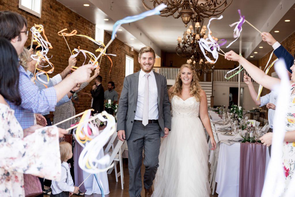 wedding at the Davenport